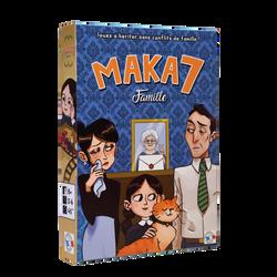 Jeu de plateau avec 26 cases et 112 cartes à jouer MAKA7FAMILLE