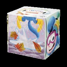 Mouchoirs boite cubique en relief animaux U MAT&LOU, x60