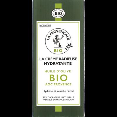 Crème radieuse hydratante LA PROVENCALE, bio tube de 50ml
