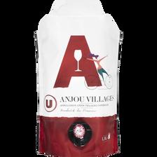 Vin rouge AOC Anjou Villages U, fontaine à vin de 1,5 litres