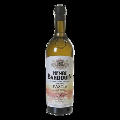 Pastis HENRI BARDOUIN, 45°, bouteille de 70cl