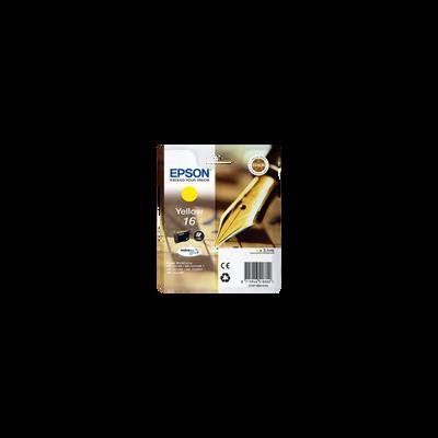 Cartouche d'encre EPSON T1624, jaune, Stylo Plume, sous blister