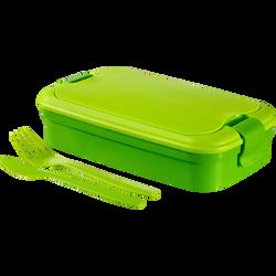 Boîte alimentaire avec couverts CURVER, 1,3l, vert
