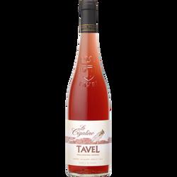 Vin rosé Tavel AOP la Cigaline, 75cl