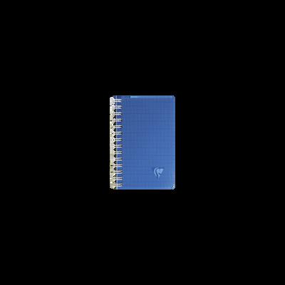 Carnet reliure intégrale CLAIREFONTAINE, Seyes, couverture en polypropylène, 9x14cm, translucide, 100 pages