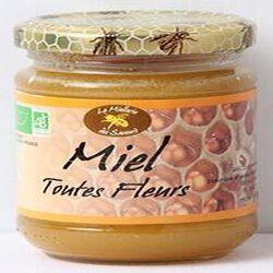 Miel toutes fleurs Bio, 250g