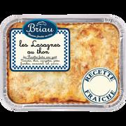 Maison Briau Lasagne Au Thon, Transformé En France, Barquette 850g