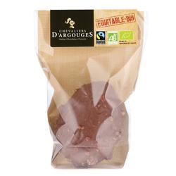 Oeuf chocolat au lait inclusion noisettes bio CHEVALIERS D' ARGOUGES,70g