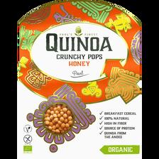Quinoa breakfast pops miel sans gluten BIO PAUL'S FINEST QUINOA, boîtede 210g