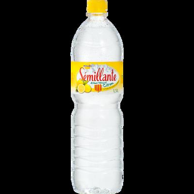 Eau de source au citron SEMILLANTE, bouteille 1.50l