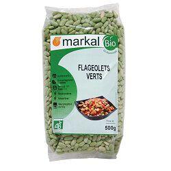Flageolets verts BIO, MARKAL, le paquet de 500g