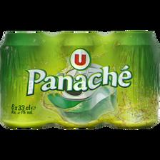 Panaché U, 6 canettes de 33cl