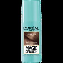 Spray instantané effaceur de racines châtain n°3 MAGIC RETOUCH, flaconde 75ml