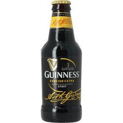 Bière GUINESS foreign extra stout, 7,5°, le pack de 6x33cl