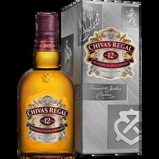 Scotch blended Whisky 12 ans d'âge CHIVAS, 40°, Bouteille de 1l sous étui