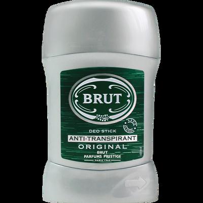 Déodorant anti transpirant BRUT, stick de 50ml