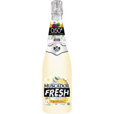Vin mousseux saveur fresh pina colada MUSCADOR , 75cl