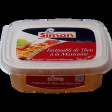 Tartinable de thon à la Mexicaine SIMON DUTRIAUX, 150g