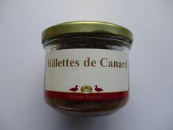 RILLETTES DE CANARD MAISON MITTEAULT BOCAL 180G