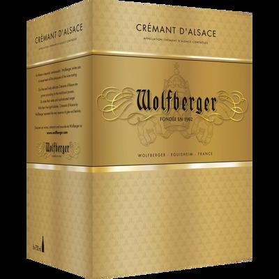 Crémant d'Alsace AOP demi-sec d'Alsace WOLFBERGER, 6x75cl