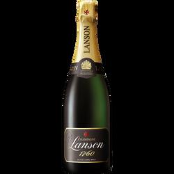 Champagne brut  black label LANSON, 75cl