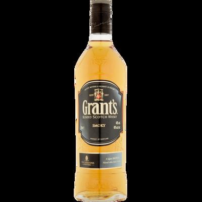 GRANT'S, Smoky coll alibi, bouteille de 70cl