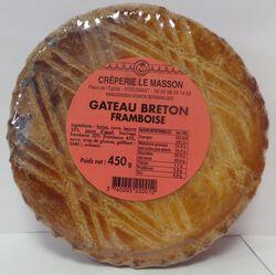 * GATEAU BRETON FRAMBOISE