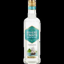 Rhum blanc, RIVIERE DU MAT, bouteille de 70cl