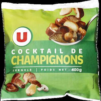 Cocktail de champignons U, 400g