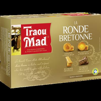 Assortiment ronde bretonne TRAOU MAD, coffret de 245g