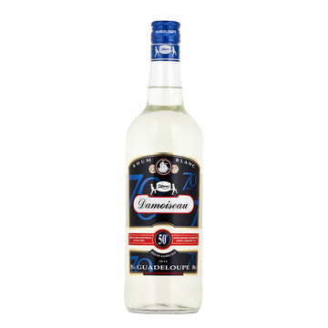 Damoiseau Rhum Blanc Agricole De La Guadeloupe Damoiseau, 50°, 1l