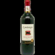 Vin rouge AOP du Chili Cabernet Sauvignon San Pedro gato negro