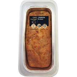 Cake au jambon et olives, 260g