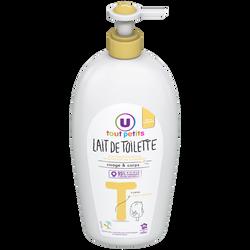 Lait de toilette Tout Petits U, flacon pompe 750ml
