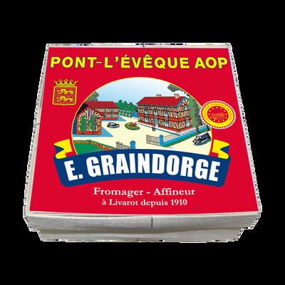 Pont l Évêque AOP au lait pasteurisé GRAINDORGE ET FILS, 23% de MG, 360g