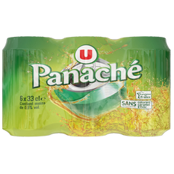 Panaché U, boîte 0,5°, 6x33cl