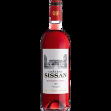 """Vin rosé AOP Bordeaux Clairet """"Château Sissan"""", 75cl"""
