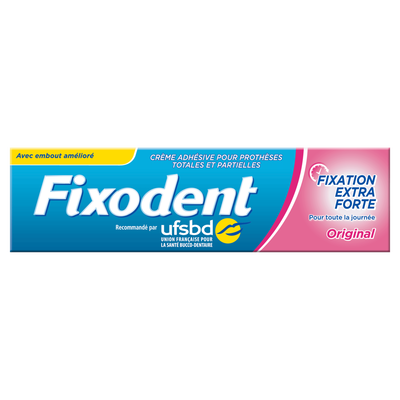 Crème original FIXODENT, 47g