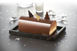 Bûche 3 chocolats, 6 parts, 720g