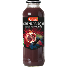 Cocktail grenade Açaï VITABIO, 50cl