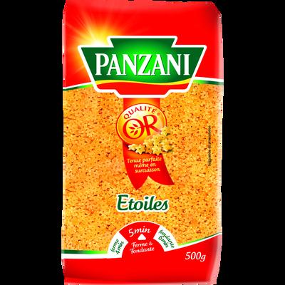 Pâtes à potage étoiles PANZANI, 500g