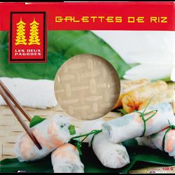 Galettes de riz LES DEUX PAGODES, 100g