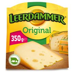 Fromage pasteurisé Original LEERDAMMER, 27.5%mg, 350g
