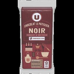 Chocolat pâtissier noir 52% U 3X200G
