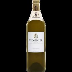 Vin blanc IGP Ardèche Viognier U SAVEURS, 75cl