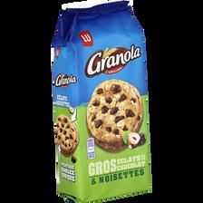 GRANOLA extra Cookies chocolat et noisettes, 184g