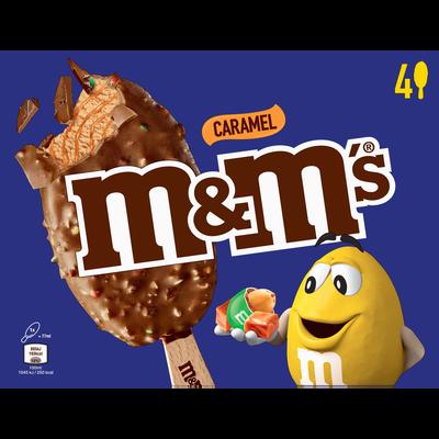 MM'S glacés au caramel, x4 soit 244g