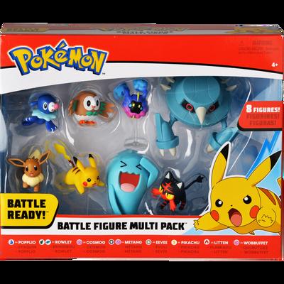 Pack exclusif 8 figurines POKEMON