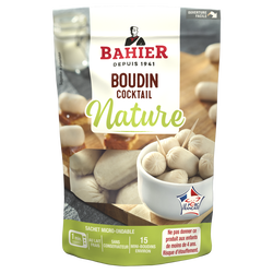 Boudin blanc cocktail nature BAHIER, 150g
