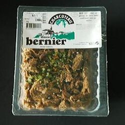 B?uf cuit en salade barquette de 400g sous atmosphère protectrice